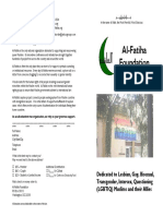 Al-Fatiha Brochure - January 2005