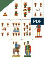 Carte Da Gioco Siciliane (Coppe)