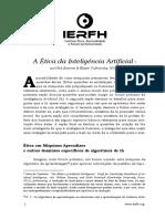 A Ética Da Inteligência Artificial