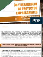Planeación y Desarrollo de Proyectos Empresariales Expo 1 Frida y Ary