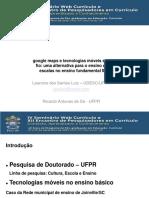 apresentação webcurriculo_2015