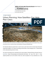 Urban Planning Process - How Can ISRO Satellites Help to Map Cities, Plans and Projects