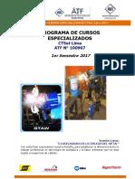 Cursos Especializados Ctsol Lima 1 Semestre 2017