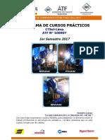 Cursos Practicos Ctsol Lima 1 Semestre 2017