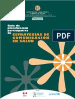 Estrategias en Comunicación en Salud