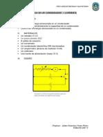 Informe de Capacitancia Laboratorio --Fisica 3