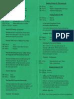 Al-Fatiha Retreat 1998 - Program - Pages 2-3