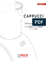 Cappucci m0s10575 Istruzioni 1u10 It
