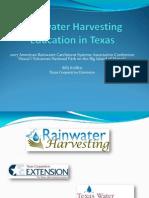 Rainwater Harvesting Education in Texas