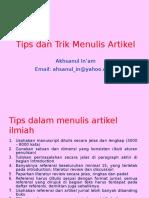 2_tips Dan Trik Menulis_artikel