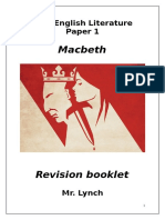Macbeth Revision Booklet MLY