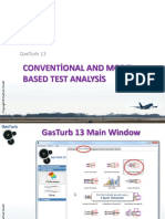 Conventional and Model Based Test Analysis