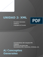 Unidad 3 - 1XML (XML, Bien Formados, Validacion)