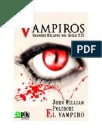 Conseguir Un Libro El Vampiro by John William Polidori