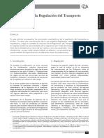 Introducción a La Regulación Del Transporte en El Perú (Raúl Torres Trujillo)