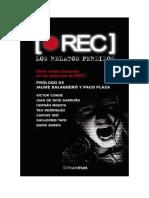 Conseguir Un Libro Rec Los Relatos Perdidos by Victor Conde Hernan Migoya Juan de Dios Garduno Cuenca Teo Rodriguez Car