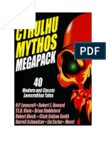 Conseguir Un Libro the Cthulhu Mythos Megapack by h p Lovecraft t e d Klein Clark Ashton Smith Robert e Howard Darrell