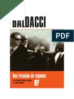 Conseguir Un Libro Una Fraccion de Segundo by David Baldacci