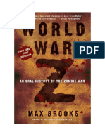 Conseguir Un Libro World War z by Max Brooks