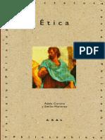 Etica por Adela Cortina y Emilio Martinez ed2001