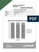 Reporte Personal Evaluación Del Talento y Exonerados 2017-1