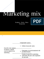 Marketing Mix Productos