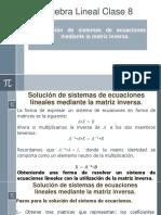 Álgebra Lineal Clase de Sirineo Gandel