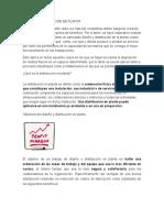 Diseño y Distribucion de Planta