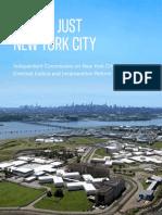 Lippman Commission Report on Closing Rikers Island