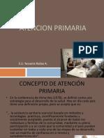 1. Concepto de Atencion Primaria 2013