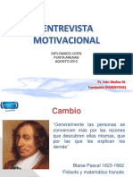entrevista motivacional