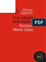 Alfonso Signorini-Prea Ma_ndra_, Prea Fragila_. Romanul Mariei Callas