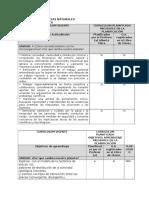 Matriz Para Profesores de Coberturas Curriculares 7TO. Ciencias