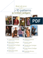 Top Ten Knitted Cardigans TOC