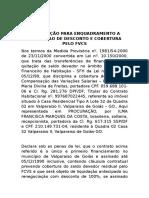 Declaração Para Enquadramento a Concessao de Desconto e Cobertura Pelo Fvcs