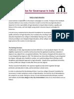 Legal Education - Report