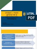 Unidad 1 Visión General de La Administración Estretégia