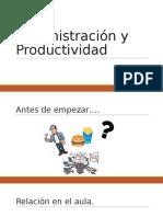 Administración y Productividad Clase 1.pptx