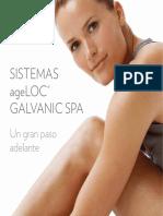 Folleto Completo Sistema Galvanico Facial y Corporal
