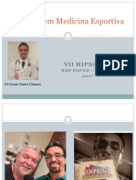 Palestra HIPNOSUR Hipnose em Medicina Esportiva DR LUCAS CASERI