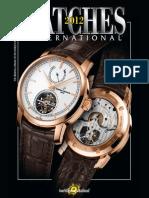 Watches International 2012