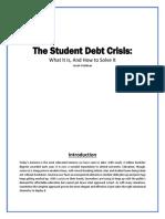 Issue Brief Student Debt Fix