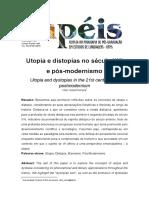 Utopia e Distopias No Século XXI e Pós-modernismo