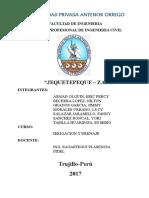 Proyecto Especial Jequetepeque Zaña Reparticion