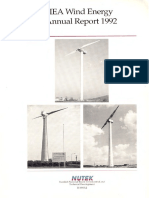 IEA Wind 1992 Annual Report
