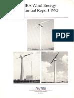 IEA Wind 1992 Annual Report