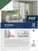 Hi Finity Brochure en Reynaers Aluminium 242309 Cat83cb5123