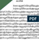 ALONE Sax Soprano