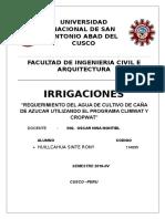 Irrigaciones Riego de Caña de Azucar