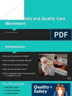 patient safety and quality care movement vo